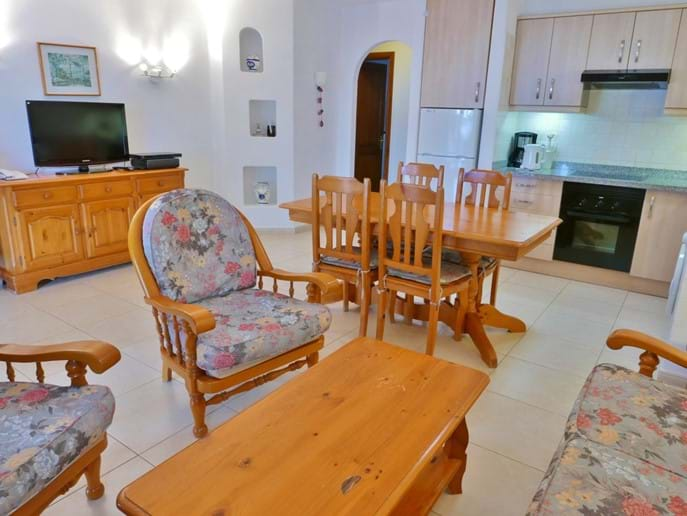 Open Plan Living Space - Villa 87