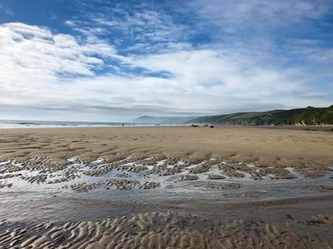 Whitsand Bay in South Cornwall is just 45 minutes drive away