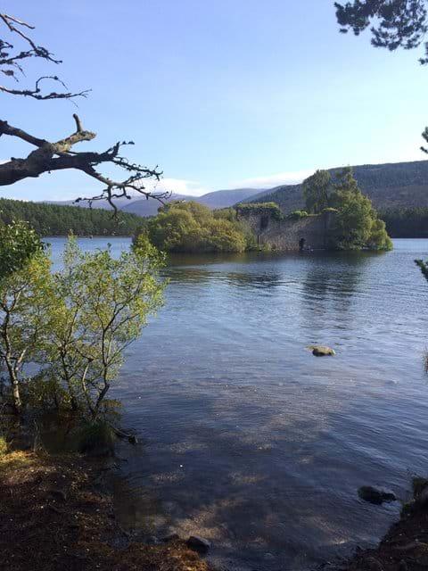 Castle at Loch an Eilean