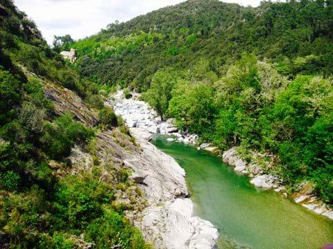 Walking wildlife France holiday river bathing Cevennes