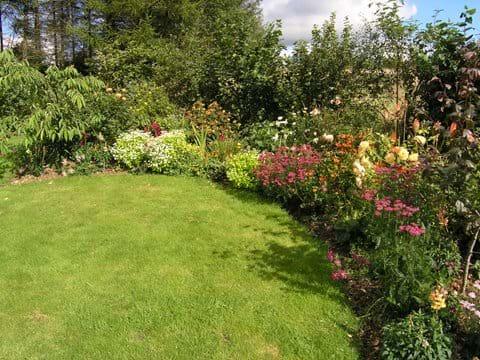 Very large pretty garden