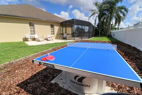 Outdoor Table tennis table and Outdoor Suntrap Patio
