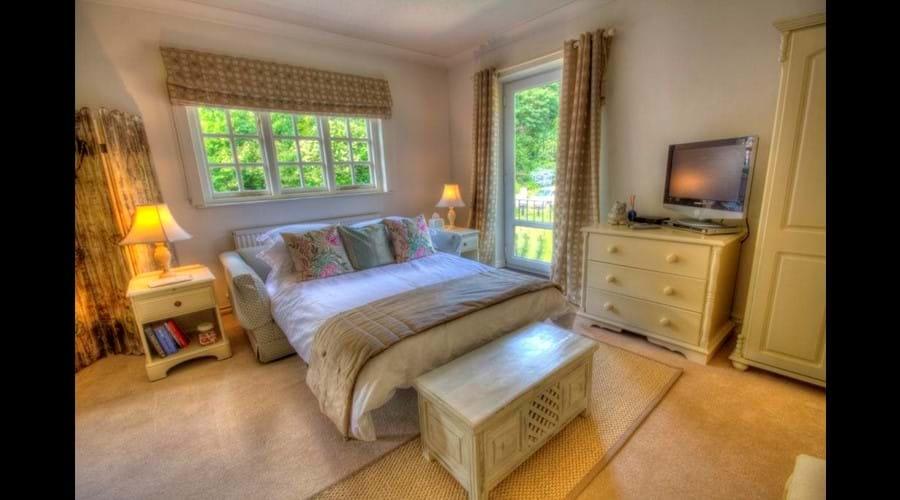 Sofa Bed in Garden Suite