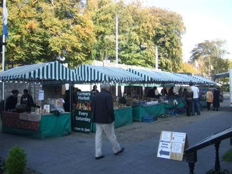Farmers market Boyle.