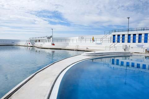 Jubilee Art Deco sea water Lido with geothermal pool