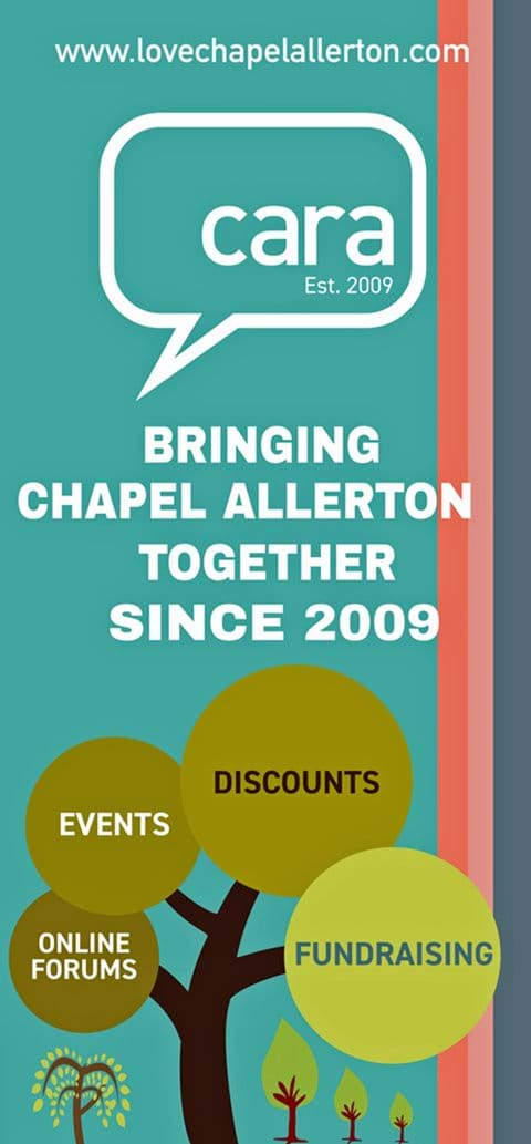 Look out for our leaflet in venues around Chapel Allerton
