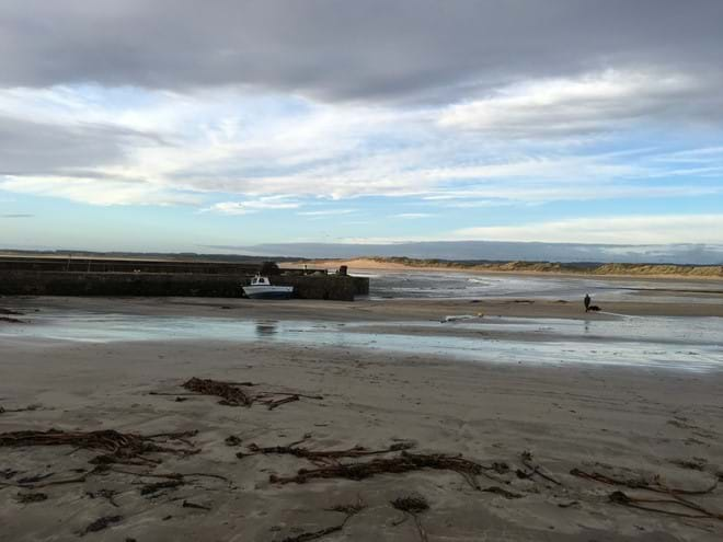 Beadnell Harbour February 2016