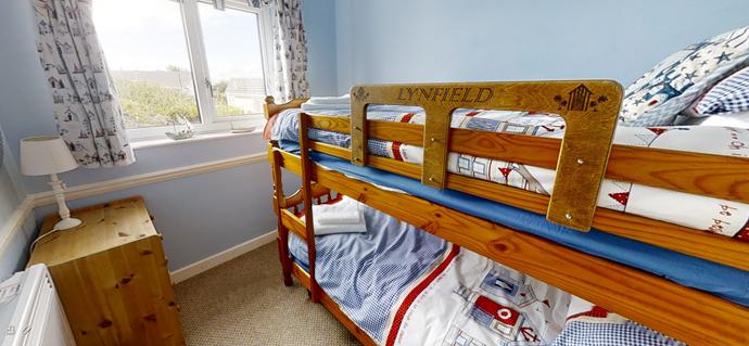 Cornish Chalet Holidays Lynfield Bunk Beds