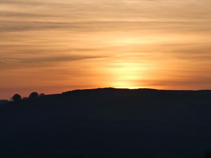 Sunsets at Nutcombe