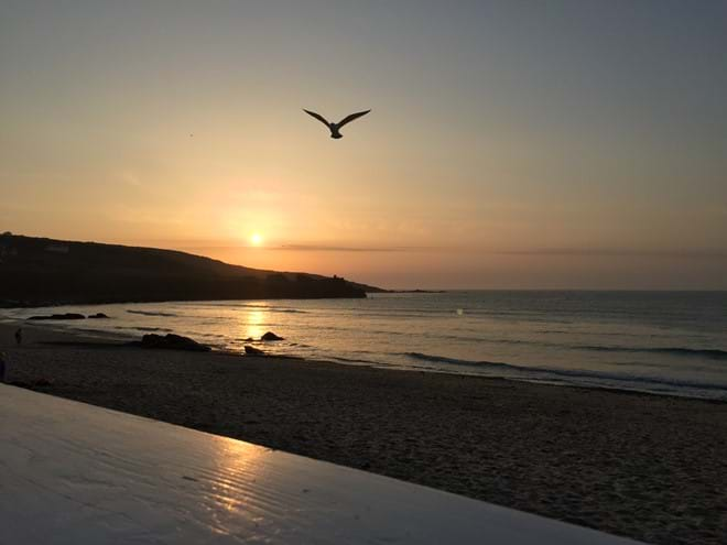 Just perfect x Porthmeor sunset x