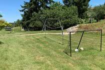 Games area (football, badminton, swings, croquet, table tennis etc)
