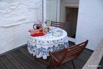 Second terrace