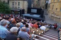 Festival des Jeux du Theatre de Sarlat on Place de la Liberté