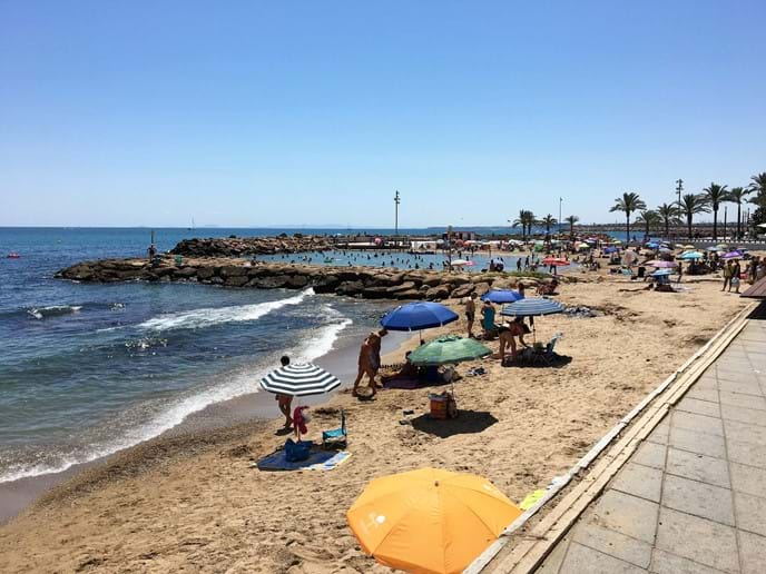 Close to apartment: Playa del Cura