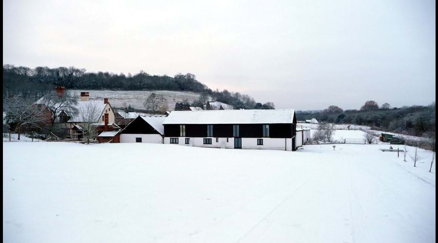 Winter at The Old Barns