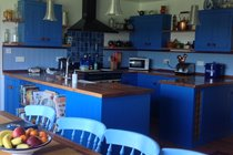 plenty of room for cooking in our bespoke kitchen