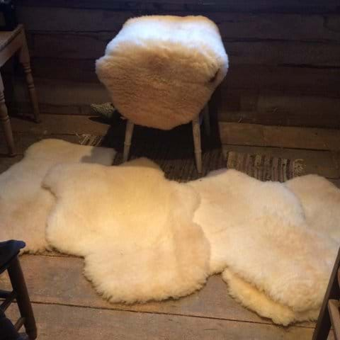 Ryeland sheepskins for sale