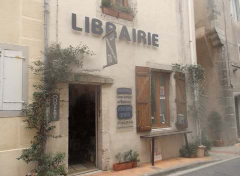 There are interesting bookshops dotted around the whole Village du Livre