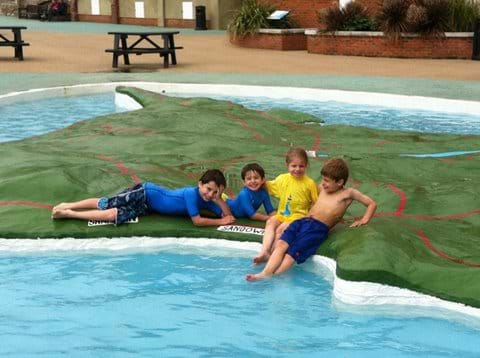 Padding pool fun