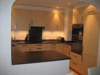 Fully Fitted Modern Kitchen with Fridge, Freezer, Microwave, Dishwasher, Nespresso Coffee Machine etc.