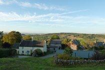 Winster overlooking the Derbyshire Peak District
