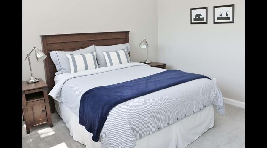 Close up of Bedroom 2