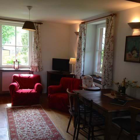 Living- and diningroom (main unit, ground floor)