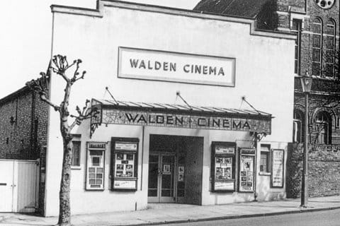 Walden Cinema, top of High Street 1912-1950