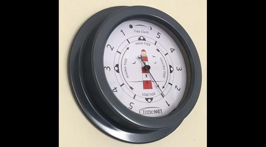 Kitchen Tide Clock - Great for planning a stroll down to the beach (only 5 minutes
