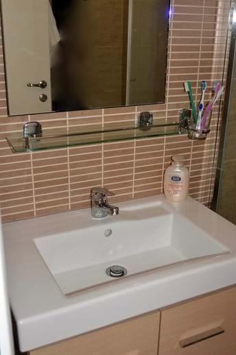 Clean, Modern, and New Bathroom