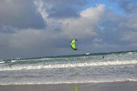 Kite Surfing at Sennen Beach