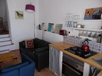 Lounge, Kitchen and Dining Area.