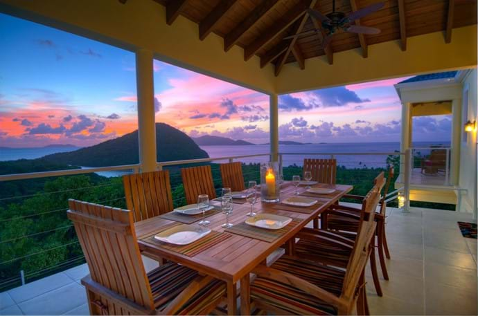 Sunset Outdoor Dining