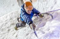 Ice climbing in central London!