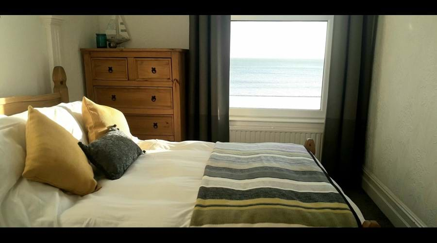Our seaview double bedroom
