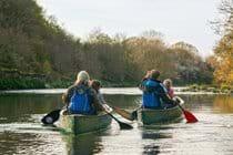Cilgerran Gorge Canoeing