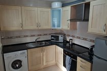 Fully fitted kitchen with all mod cons and equipment