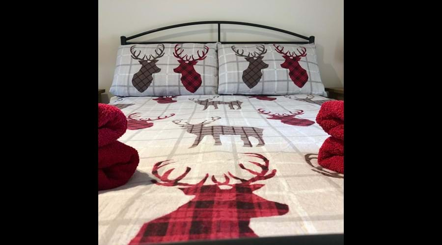 The Cow Byre double bedroom
