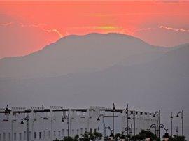 Sunset over Condado de Alhama
