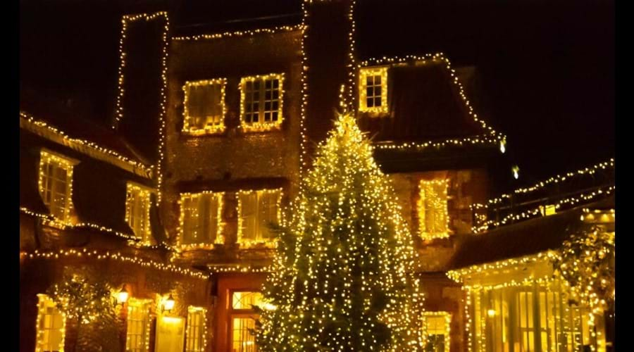 The Blakeney Hotel at Christmas