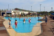 Sutton on Sea free to use children's paddling pool