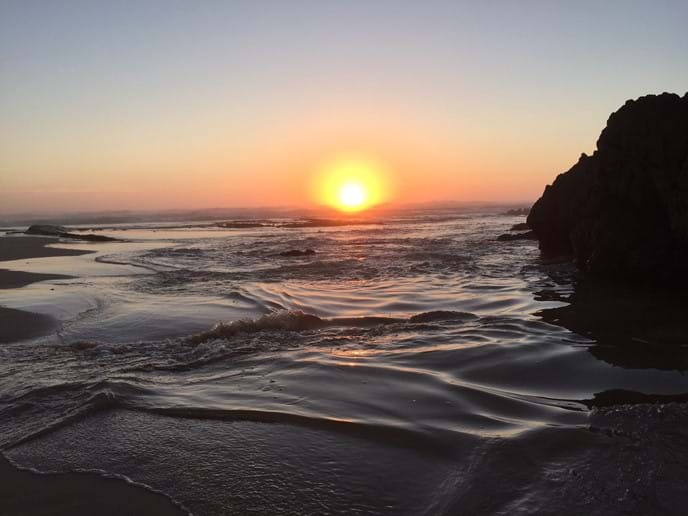 Monte Clerigo sunset, just 5 minutes drive