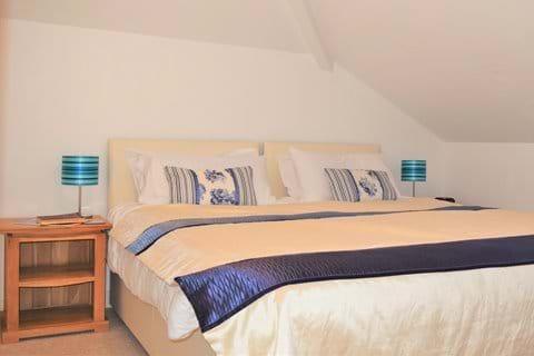 Top Floor Ensuite Bedroom-option of twin or super-king bed