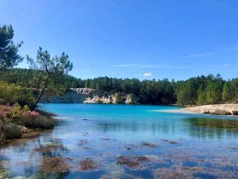 Promenades dans la nature aux lacs du Guizengeard (10 mins)