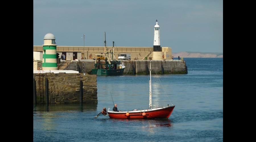 Peel harbour.