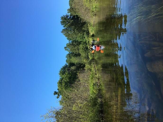 Kayaking at Otter Creek