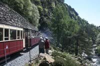 Welsh Highland Railway at Aberglaslyn Pass