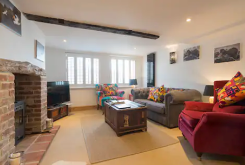 Ship Cottage lounge