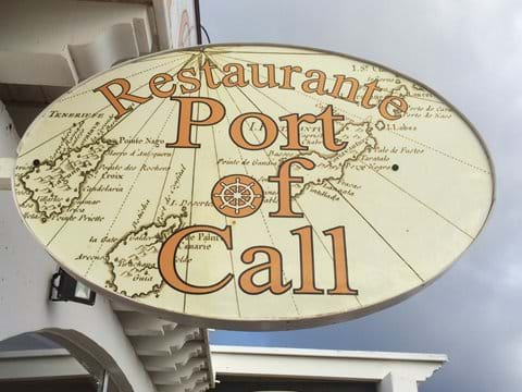 5 minute walk - Port of Call - one of  our favourite restaurants (but don