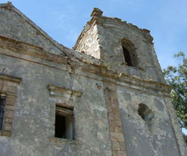 Ruined Monastery in Monchique